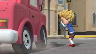 Робокар Поли - Правила дорожного движения (серия 3) - Безопасность в школьном автобусе