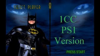 Batman Forever: The Arcade Game 1CC (Playstation 1 version) Batman Hard Difficulty