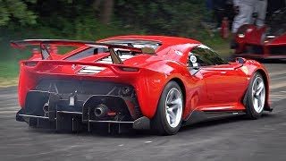 BEST OF Ferrari Sounds at Festival of Speed   P80/C, FXXK EVO, SP3JC, F40LM, 812 & More!