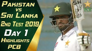 Pakistan vs Sri Lanka 2019 | Short Highlights Day 1 | 2nd Test Match | PCB