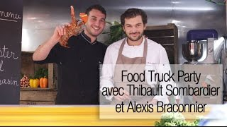 Food Truck Party : le lobster roll au sarrasin de Thibault Sombardier