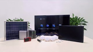 PBOX P6 Portable Solar Home System - Introduction & Quick Start Guide