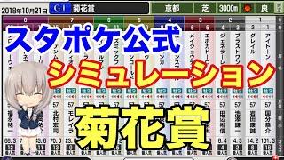 スタポケ公式さんの菊花賞予想シミュレーション