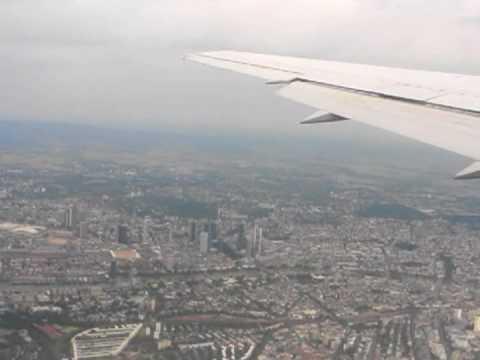 Lufthansa Takeoff Frankfurt from inside Plane
