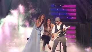 JLO - Hilarious with fan on stage (Melb 11.12.12}