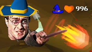 Magical Wizard of OSRS (Fire Surge Combo PKing) 