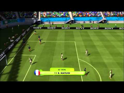FRANCE - NIGERIA | 2014 FIFA World Cup (All Goals Highlights HD)