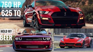 Will The 2020 Mustang GT500 Have Enough Power To Defeat The Hellcat Redeye?