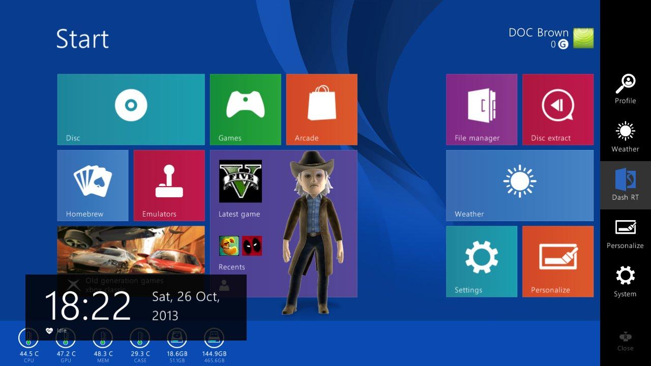 How To Change Xbox 360 Skin To Windows 8 Rgh Jtag