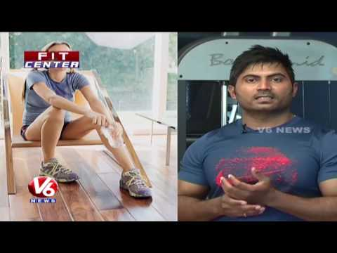 Exercises For Weight Loss | Trainer Venkat Fitness Tips | Fit Center | V6 News