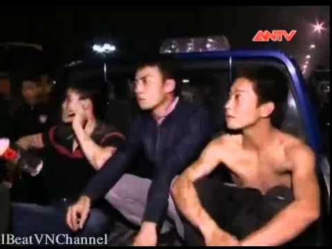 CSCĐ bắt 2 nhóm thanh niên chém nhau tại khu đô thị Việt Hưng