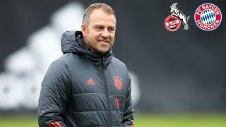 🎙 Sané wieder in der Startelf? Pressegespräch mit Hansi Flick | 1. FC Köln - FC Bayern