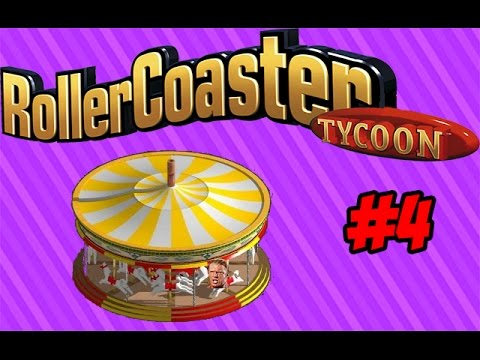 Roller Coaster Tycoon: Ron Meyer!?! - Part 4 - World Select Gaming