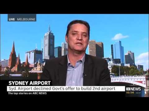 Western Sydney Airport - Interview with Matt Coetzee, ABC News