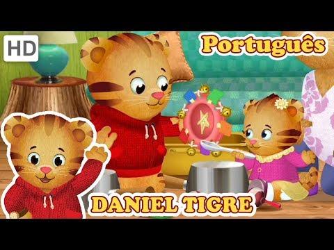 Daniel Tigre em Português - Diversão com a Família | Vídeos para Crianças