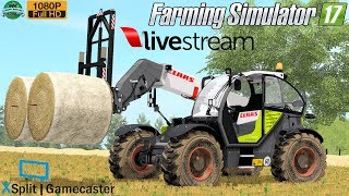 Farming Simulator 17   LIVE Streaming Knezmost AgroVation Map by #Gaming Evolved 1080p