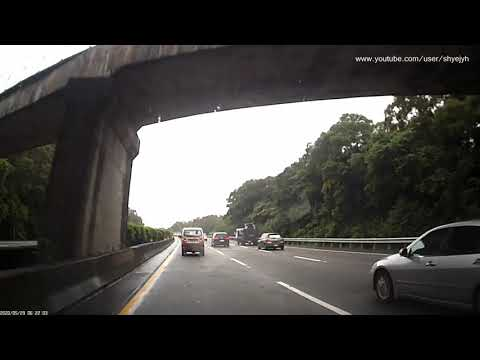 危險駕駛惡意逼車,高速公路上 Dangerous Driving - Despiteful Tailgating on Freeway