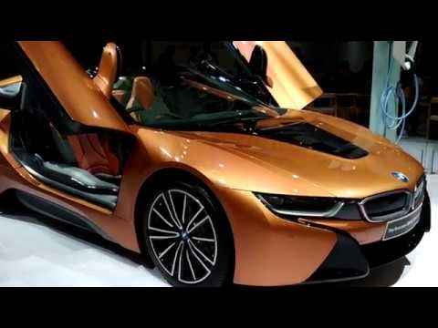 BWM i8 Roadster Interior and Exterior 2019