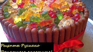 Рецепты Русиано за минуту // Вкусная подборка // Украшение торта / пирожного / морожного / выпечки