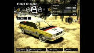 NFS Most Wanted - Nouvelle voiture pour le ModLoader : La Audi Quattro