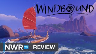 Windbound (Switch) Review - Breath of the Wild Meets Survival Roguelike (Video Game Video Review)