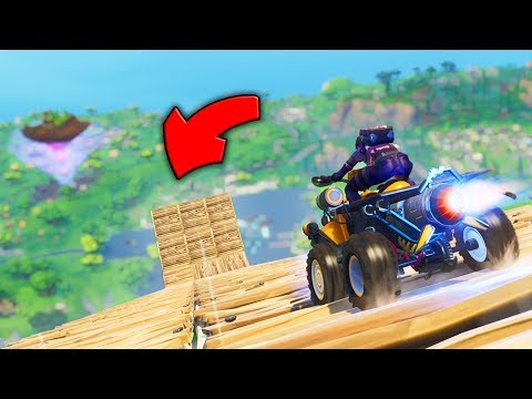 Can The QUAD CRASHER BACKFLIP From MAX HEIGHT In Fortnite Mythbusters