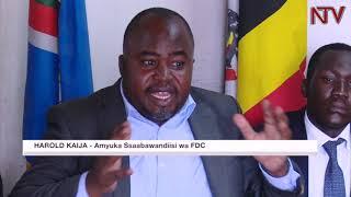 OKUTEREEZA EBY'OKWERINDA: Aba FDC bawadde Museveni amagezi thumbnail