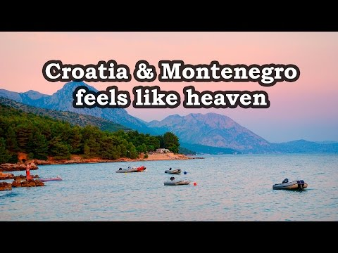 Croatia and Montenegro - Feels Like Heaven . Motorcycle trip across Europe 2015 - part 2