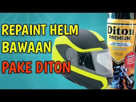 Tutorial Repaint Helm dengan DITON PREMIUM