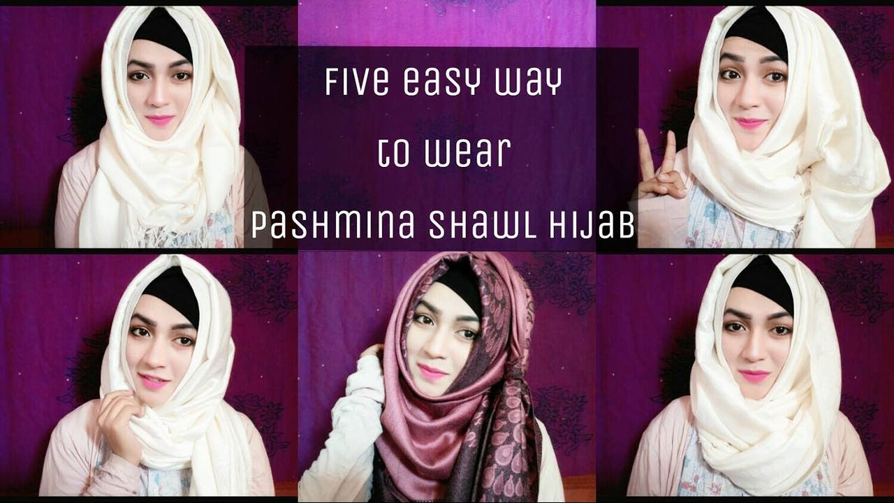 Pashmina Hijab Styles Hijab Scarf Tutorial New Modern Fashion