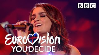 Holly Tandy performs 'Bigger Than Us' - Eurovision: You Decide 2019 - BBC
