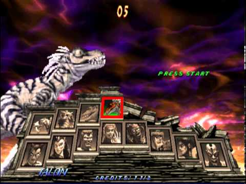 Primal Rage 2 Full Character Select (Shows off Dino-Gods ...