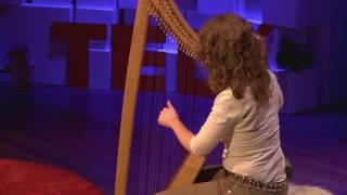 Harp Experience: How to Follow your own Rhythm | Mechteld Karlien de Jongh | TEDxTwenteU