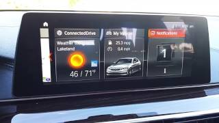 Using The 2017 BMW 5-Series iDrive System