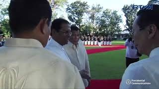 Official Welcome Ceremony for H.E. Maithripala Sirisena, Democratic Socialist Republic of Sri Lanka