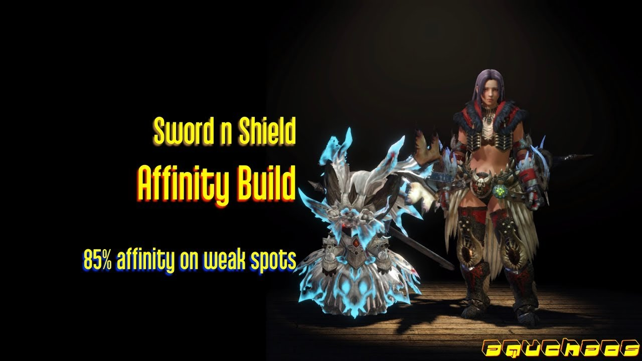 MHW: Sword and Shield - 85% Affinity Build