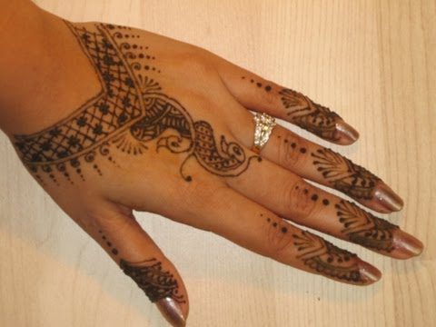 How to Make Henna Mehendi Design : Bridal Mehendi