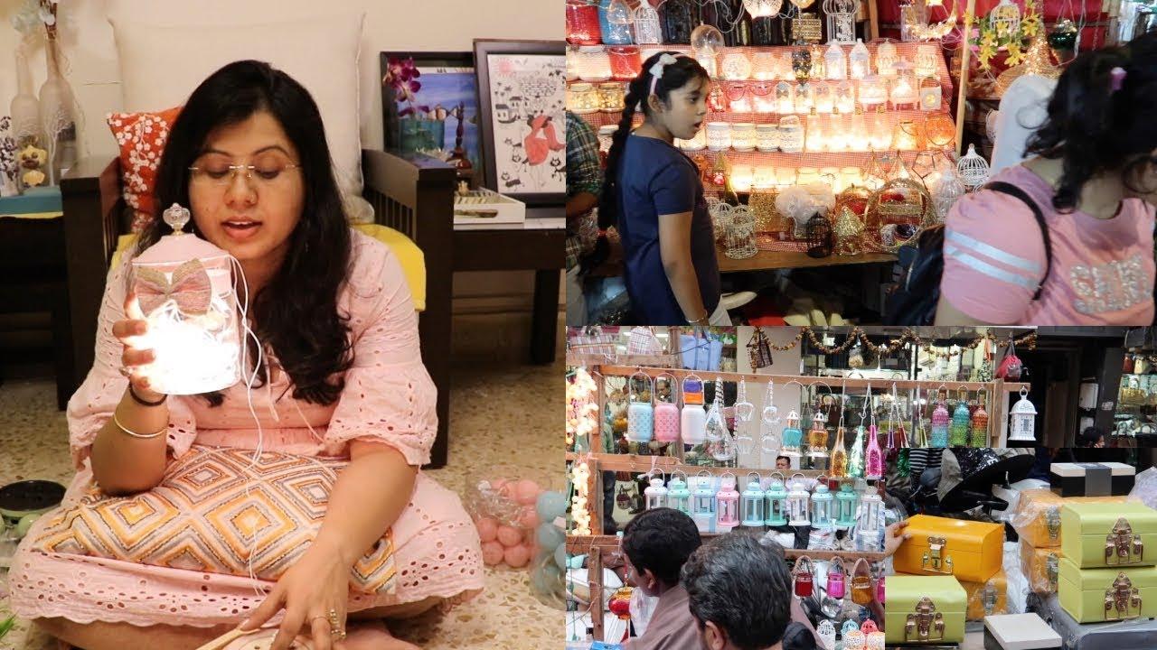 Diwali Shopping Haul 2018 Crawford Market Mumbai Home Decor