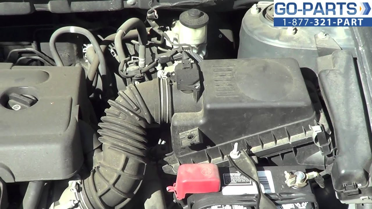 2008 camry fuel filter location