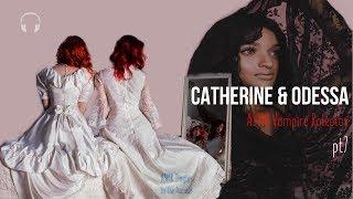 Catherine & Odessa [ASMR] ★ Vampire twins ♡♡♡ Roleplay pt7 ★ [Binaural] [Soft speaking] [Multilayer]