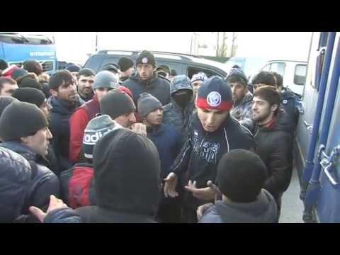 """Митинг дальнобойщиков против системы """"Платон"""" в Дагестане"""