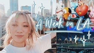 A Week in LA! | KCON LA 2019, Meeting New Friends & More!