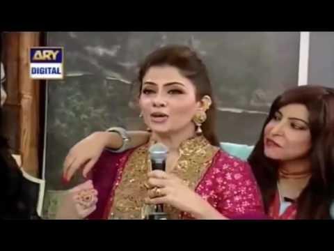 Filmstar Laila Complete Dare In Waqar Zaka Show