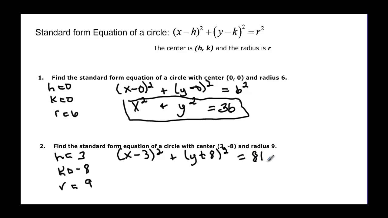 12211 distance and midpoint formulas with circles youtube 12211 distance and midpoint formulas with circles falaconquin