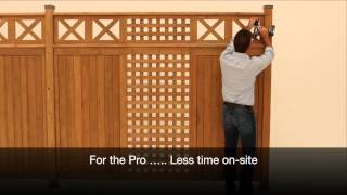 Solowave Design: Yardistry Fence Panels For 2015