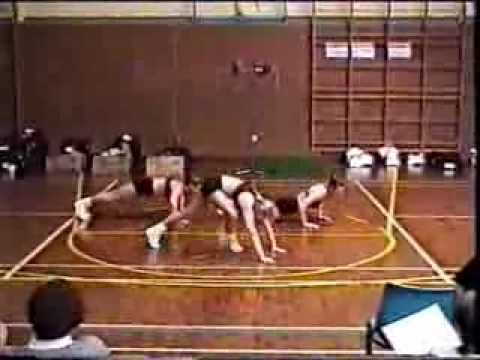 Competitive Aerobics Dance Sport Training for Pan Pacifics 1996.wmv