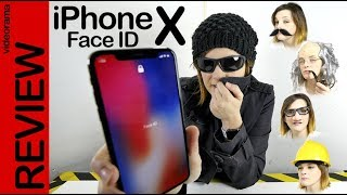 iPhone X -prueba extrema de Face ID-