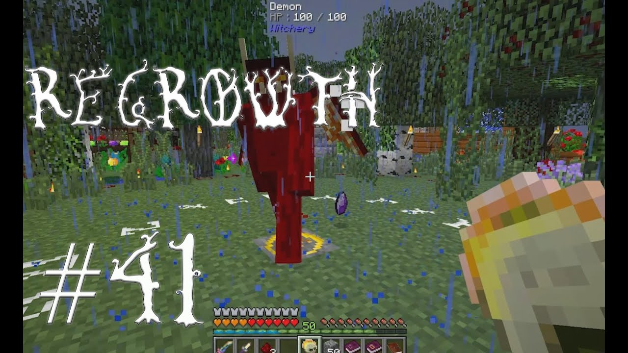 FTB Regrowth - Episode 41 - Witchery Demon and Imp