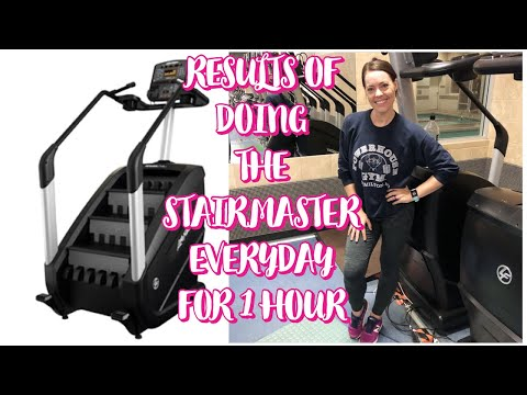 RESULTS OF DOING THE STAIRMASTER EVERYDAY FOR 1 HOUR!!!