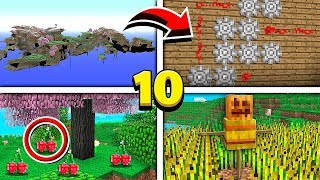 TOP 10 REMOVED FEATURES IN MINECRAFT!